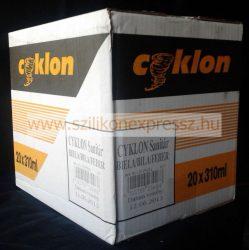 Cyklon szaniter szilikon 310 ml átlátszó (20db/karton)