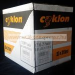 Cyklon szaniter szilikon 310 ml fekete (20db/karton)