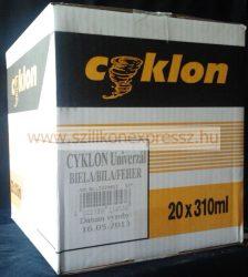 Cyklon univerzális szilikon 310 ml fehér (20db/karton)