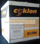 Cyklon univerzális szilikon 310 ml fekete (20db/karton)